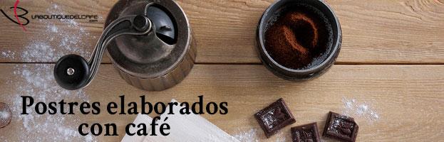 5 postres con café